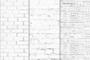Seamless White Brick Textures